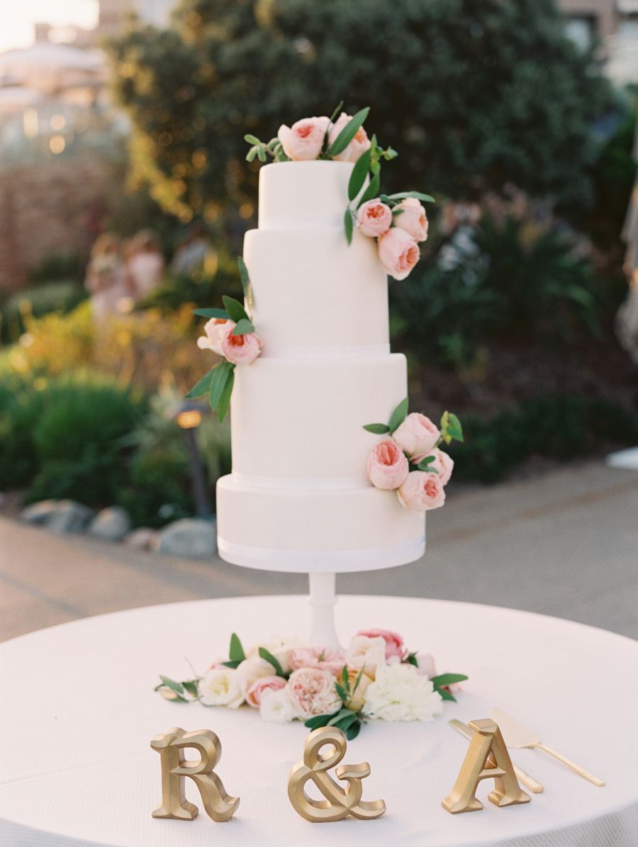 laguna beach wedding cake