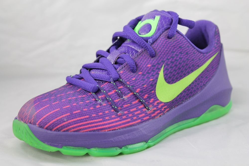 885fc430c9a NIKE KD VIII 8 (PS) Boys Court Purple Kevin Durant Shoes 669942-400 ...