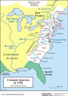 map of colonial america | Genealogy | Colonial America, Genealogy