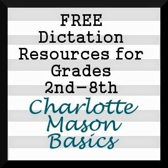 Shoestring Homeschool Free Dictation Resources For Grades 2nd 8th