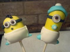 Minion Baby Shower Cookies   Google Search