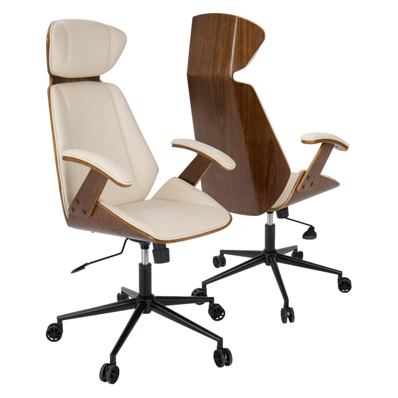 Lumisource Spectre Swivel Office Task Chair Modern Office Chair