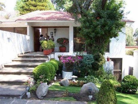 jard n frontal casa jardin era pinterest jardines