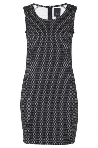 ICHI Lidots Dress Black - Kjoler/nederdele - MaMilla