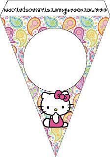 Imprimibles de Hello Kitty 23.