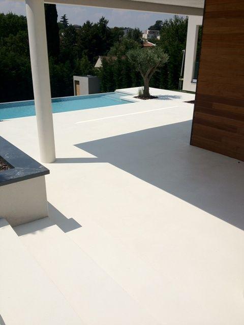 Béton ciré couleur Everest Meson Pinterest Spain and Decoration - beton decoratif pour terrasse