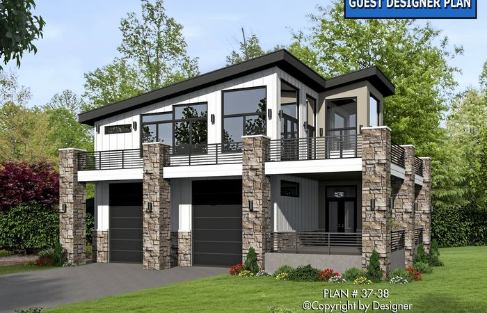 Uncategorized Elevated House Plans Within Inspiring Unique ...