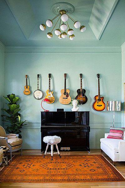 Make Music Home Music Rooms Retro Home Decor Wall Decor Living