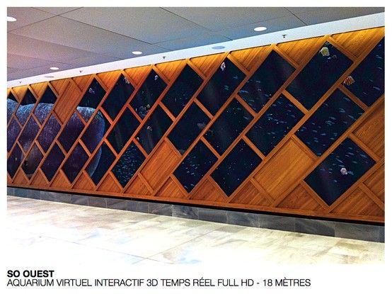 So Ouest - Galerie Marine #retail #commerce #design #techno