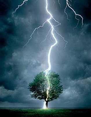tormenta eléctrica. Cómo protegerse - DE CAMPING