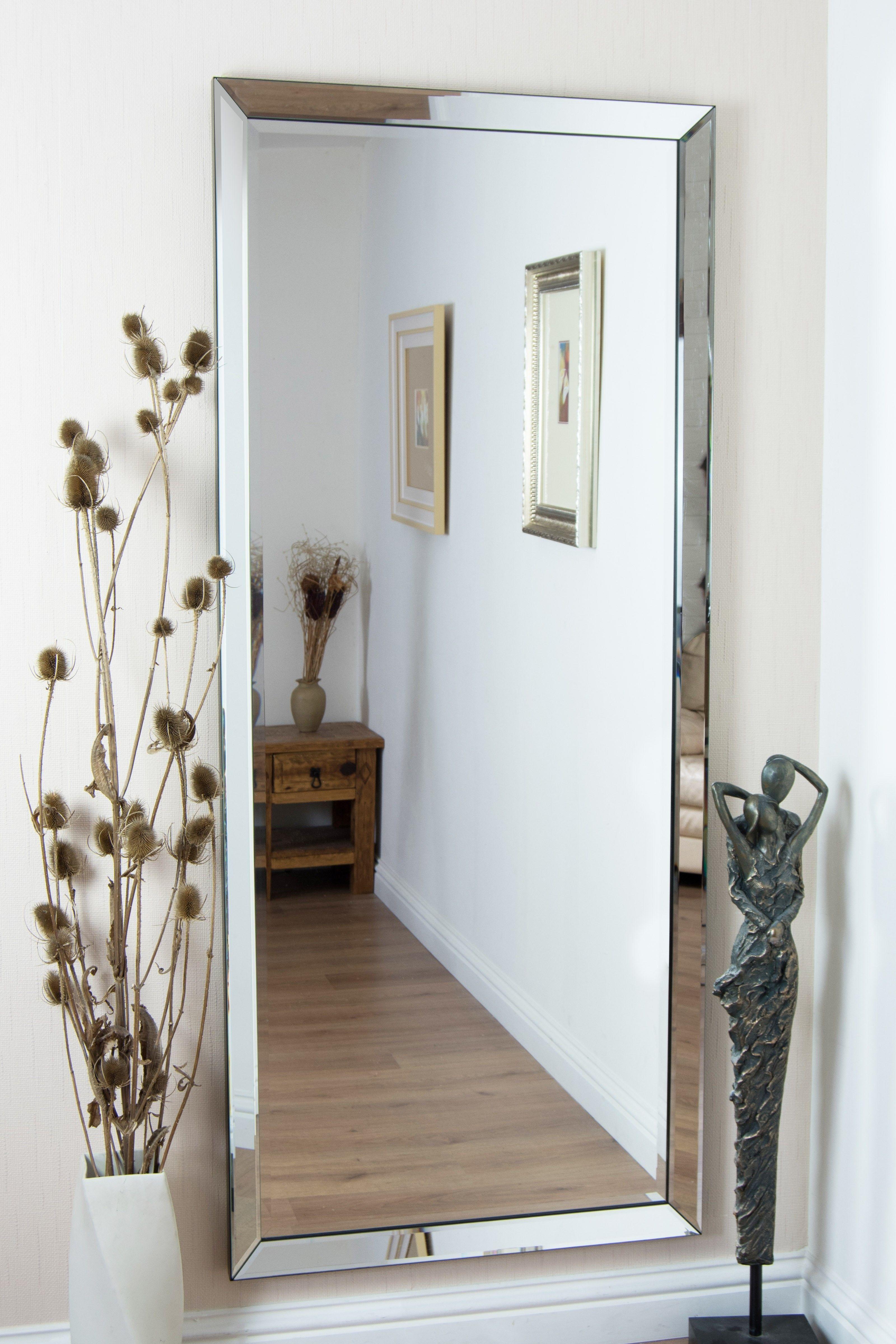 Large Rectangular Mirrors For Walls Mirror Wall Bedroom Modern Mirror Wall Big Wall Mirrors