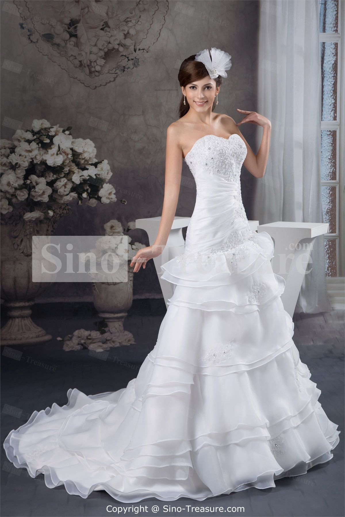 Corset Sweetheart Wedding Dress