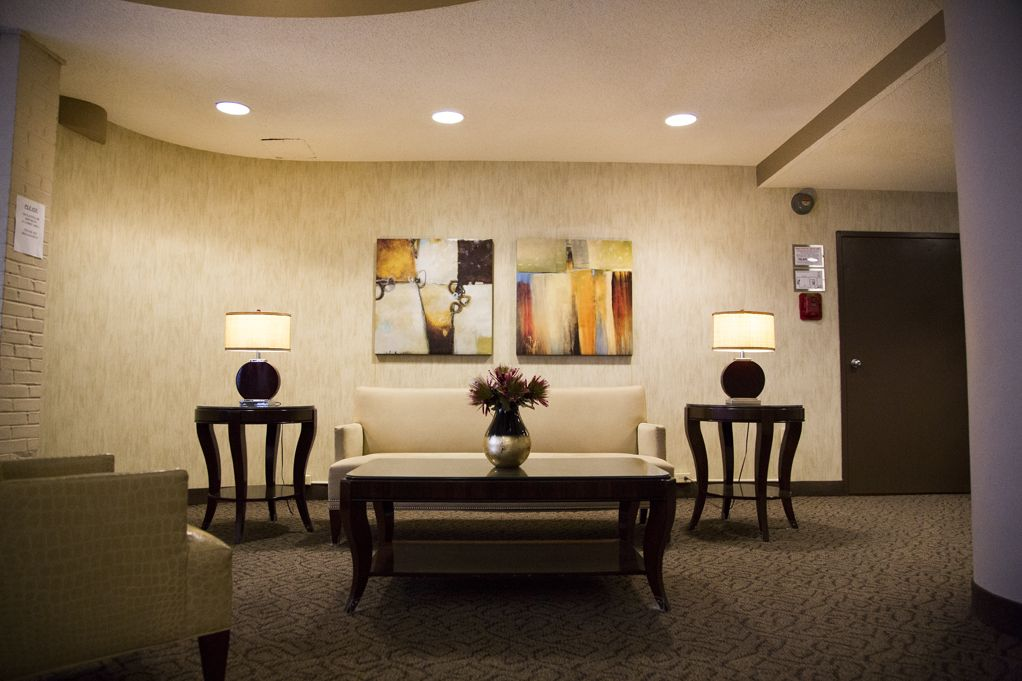 Welcoming Lobby | Hilltop House in Northwest Washington DC ...