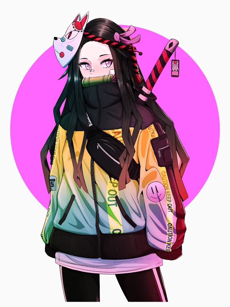 """Nezuko Kamado Fashion"" Tshirt by HikariStore Redbubble"