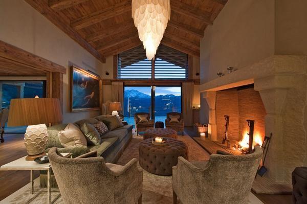 Un Lujoso Chalet En Suiza Hogar Decoraciones De Casa Muebles