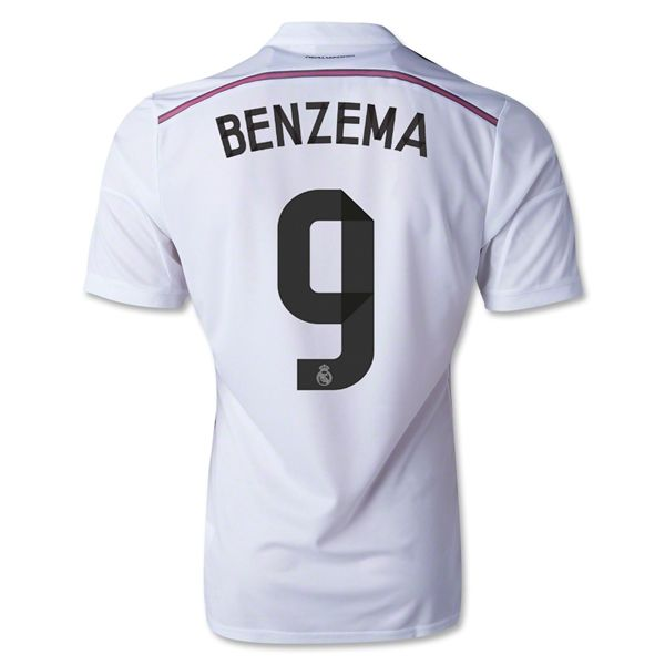 1d31152bb 2014 15 Nacho Fernandez 18 Real Madrid Home Soccer Jersey shirt ...