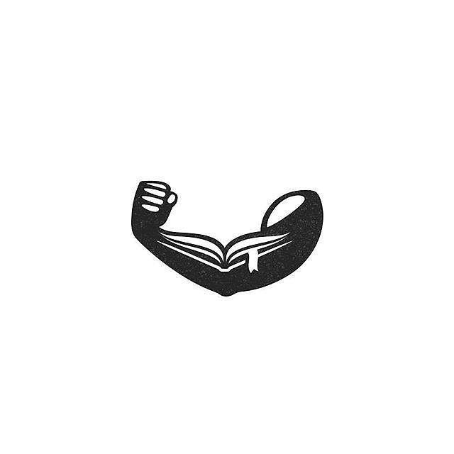 Logo inspiration: The Power of Reading by Brazhnikova