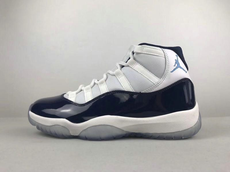 discount 283ca a6491 Where To Buy Air Jordan 11 Retro White University Blue-Midnight Navy 378037- 123