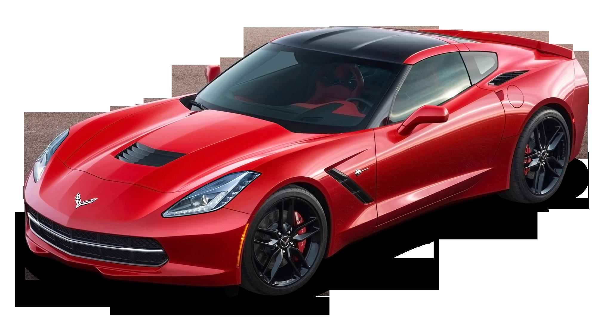 Red Chevrolet Corvette Stingray Top View Car Png Image Corvette Stingray Chevrolet Corvette Stingray Chevrolet Corvette