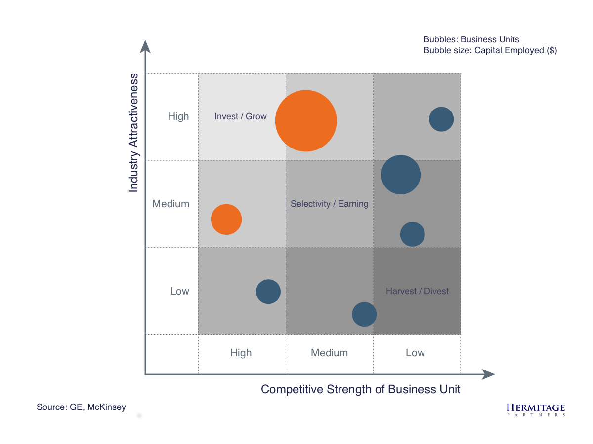 ge mckinsey analysis of adidas Diversification strategy outline introduction: the basic issues  managers might fail to conduct an adequate strategic analysis of acquisition candidate.