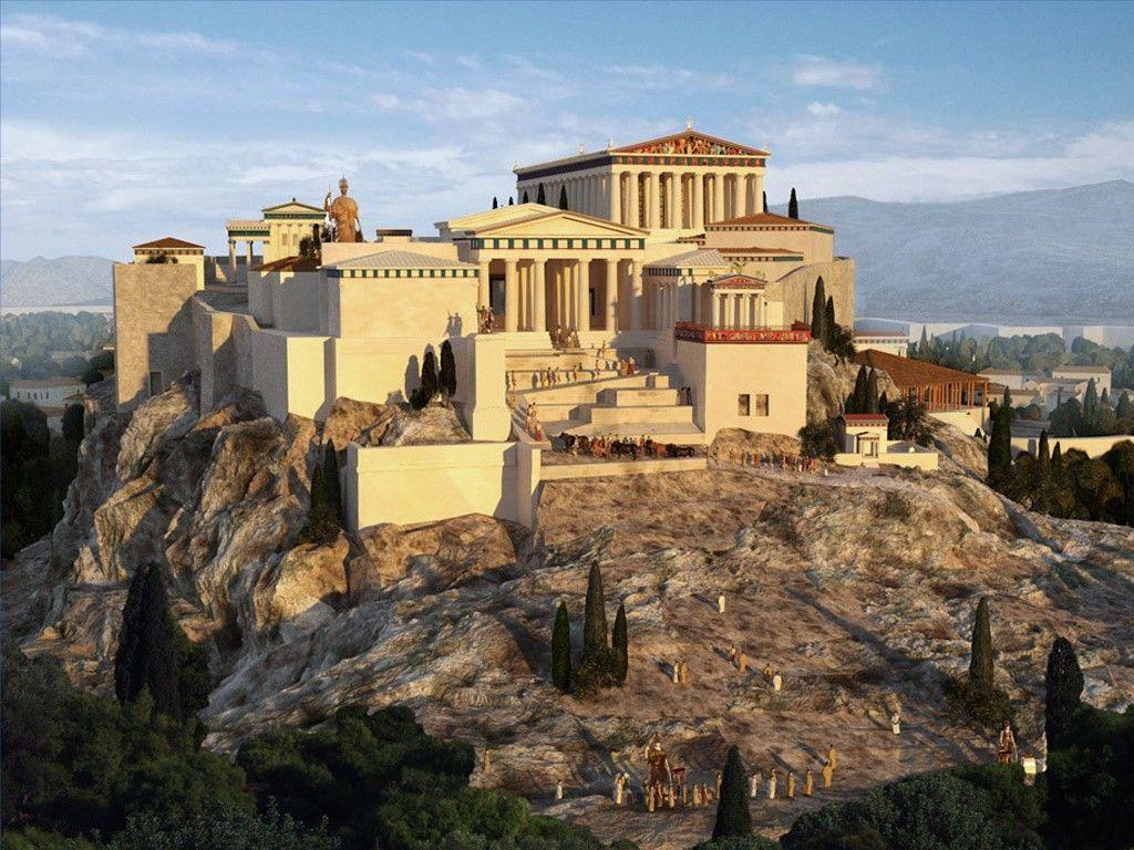 Картинка афины в древности
