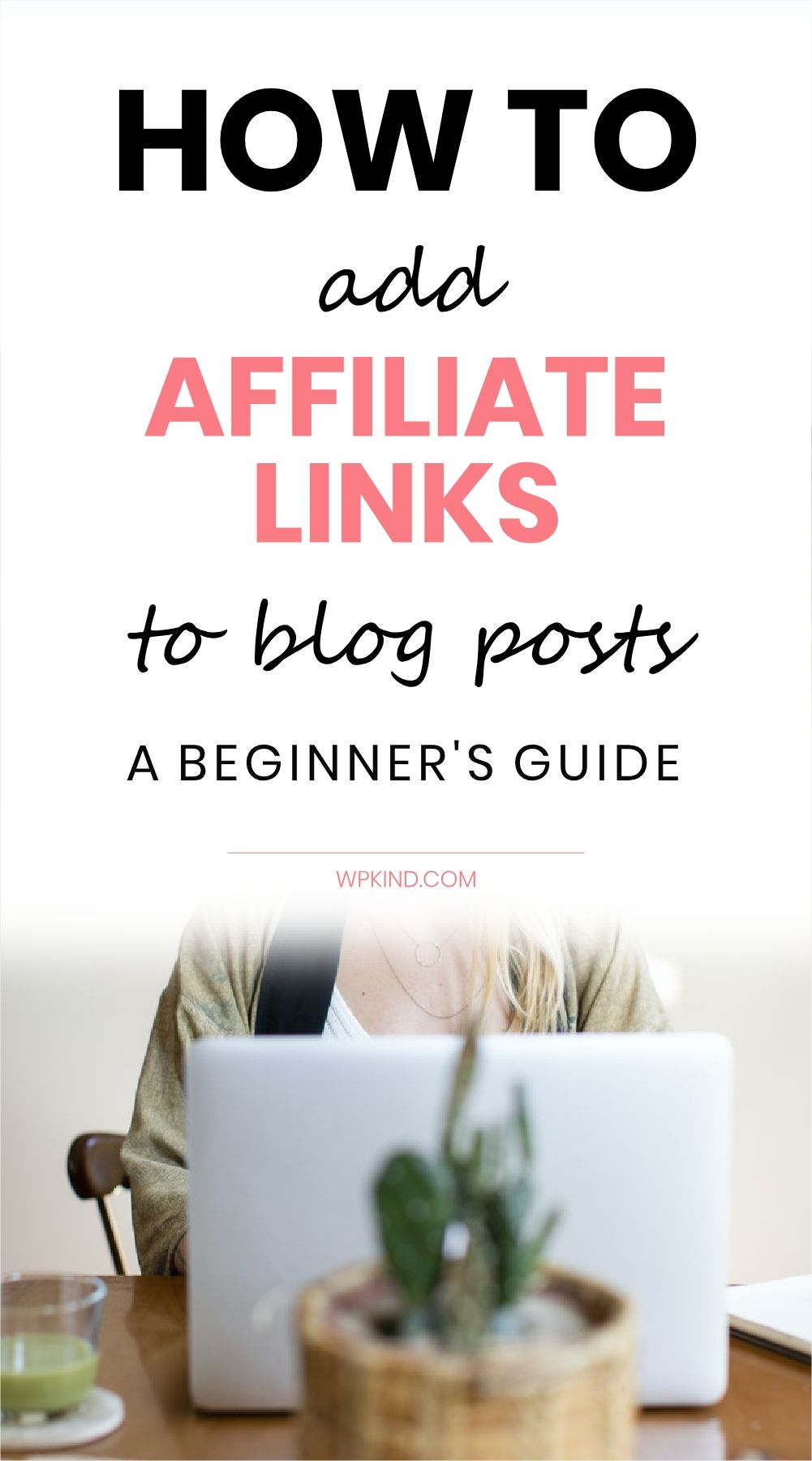 Exactly how to add affiliate links to WordPress blog posts to make money for your blogging business. It is very easy to do using this free plugin. I also cover where to find products to promote and how to disclose affiliate income to your readers to keep your blog legal. #bloggingtips #bloggingforbeginners #wordpresstips #wordpresstutorials