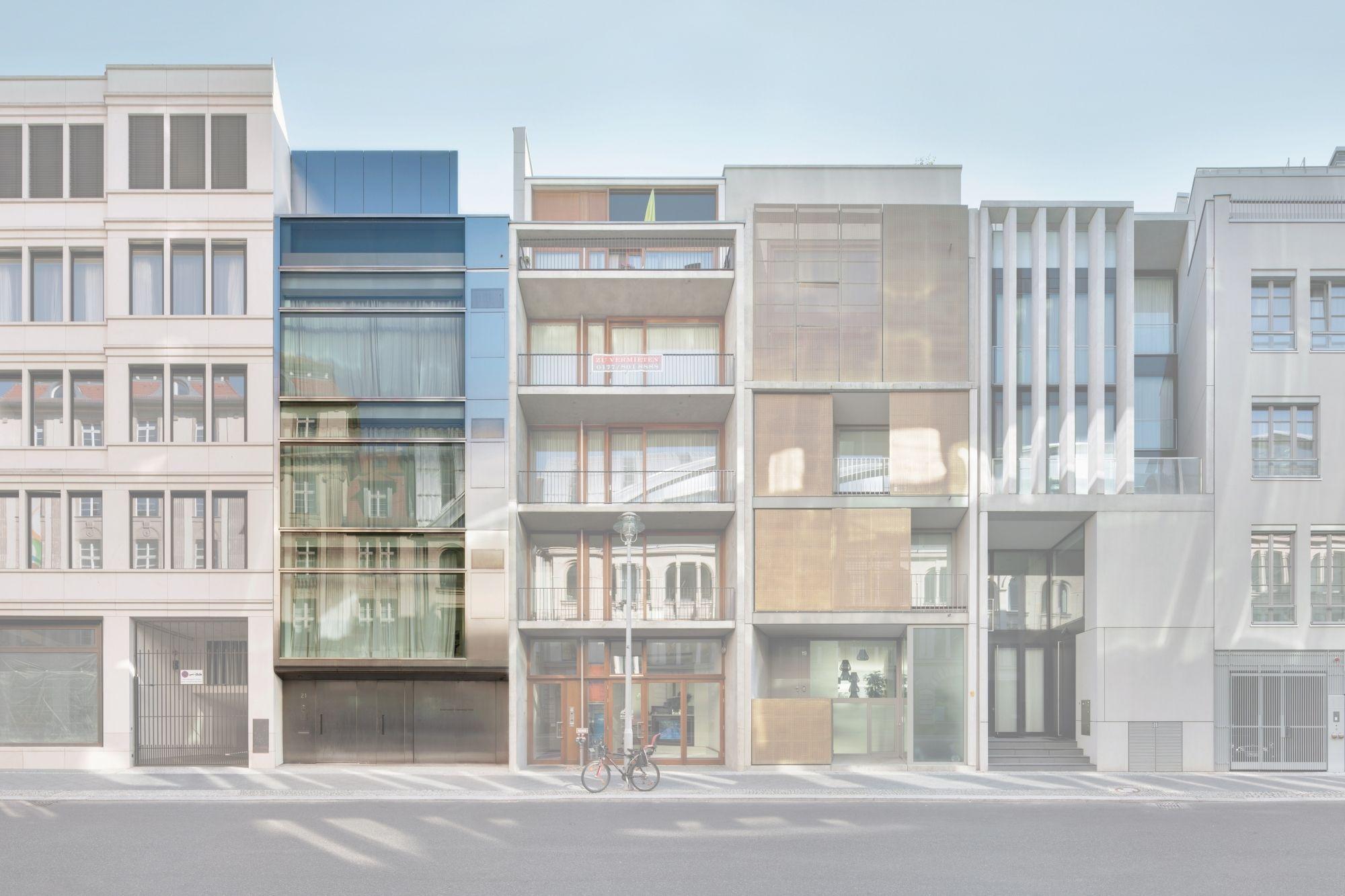 Townhouse Berlin grüntuch ernst architekten townhouse berlin townhouses