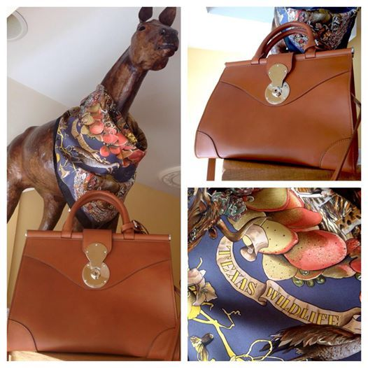 (SOLD) Quit horsin' around and come check out this special-edition Hermès scarf commemorating Texas wildlife! Paired with a gorgeous Ralph Lauren handbag! Please call 202-667-1122 for price. (Scarf: #24062-2, handbag: #23740-3) #secondi #dcsecondi #secondidc #secondiconsignment #dupontcircle #dcshopping