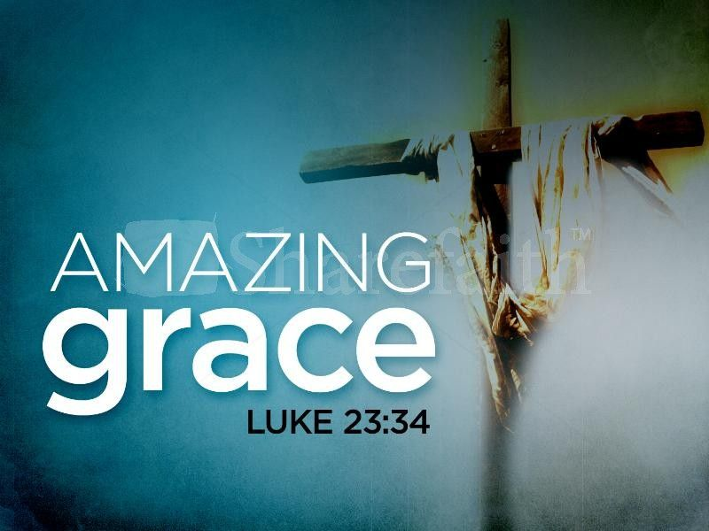 Amazing Grace Powerpoint Template  Template And Easter