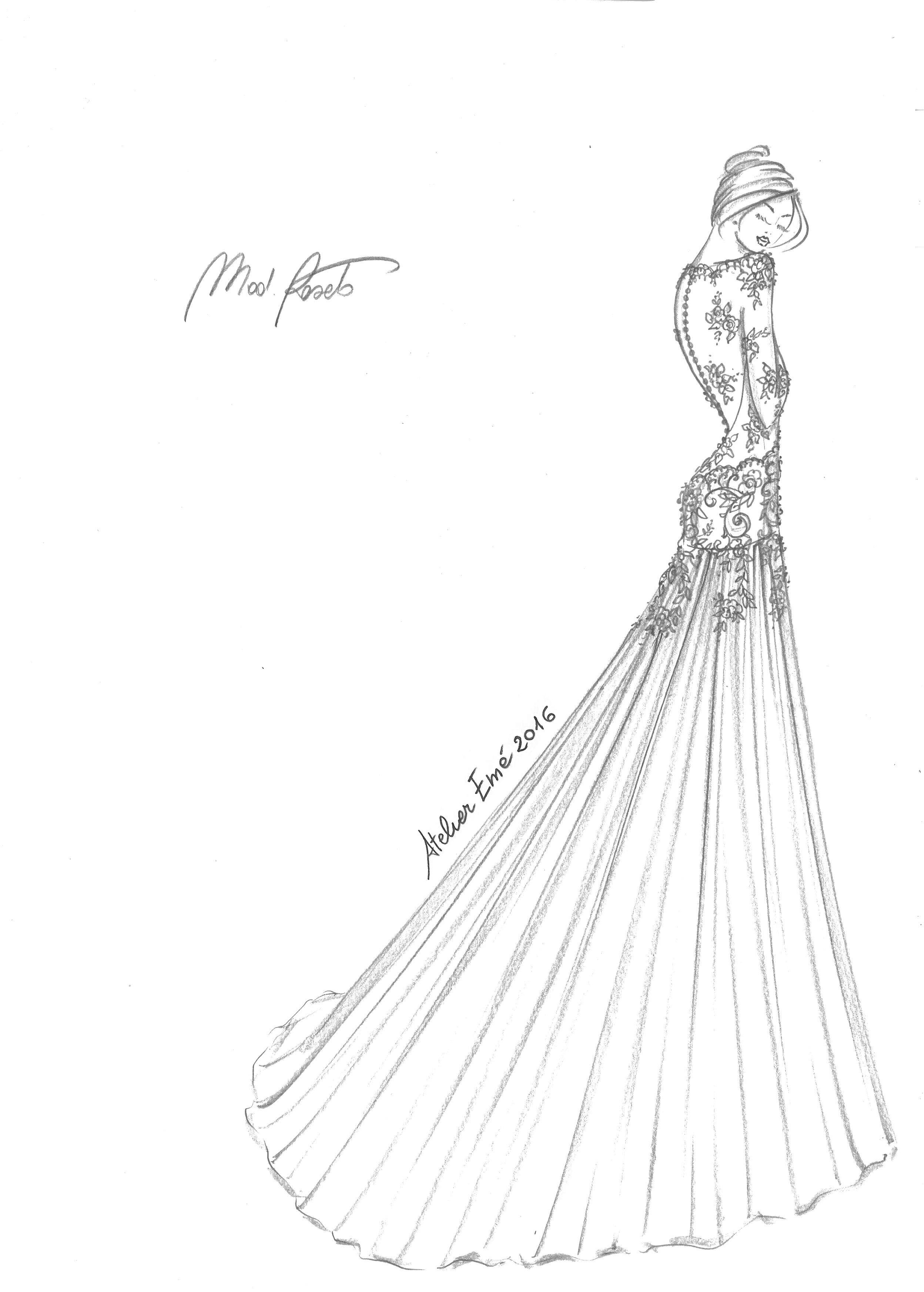 Roseto atelier emé fashion illustrations pinterest fashion