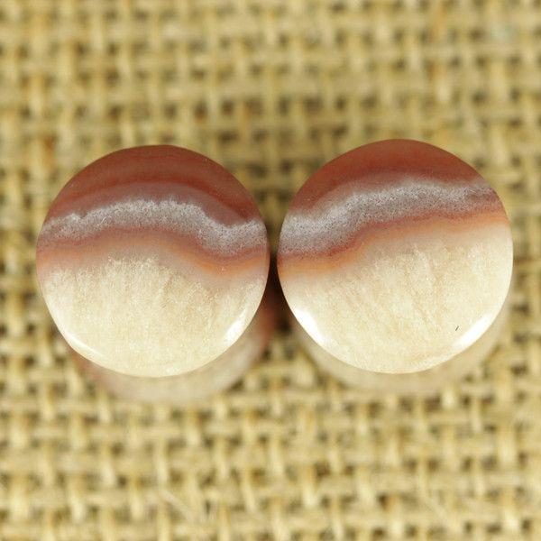 Mendip Potato stone plugs | 12mm