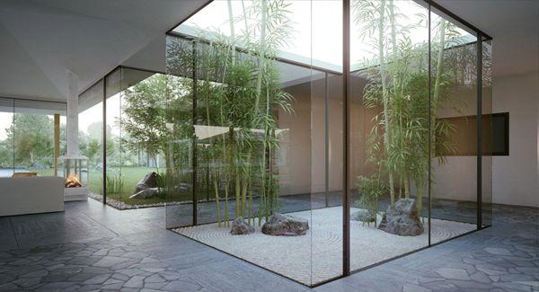 58 Most Sensational Interior Courtyard Garden Ideas Indoor Zen