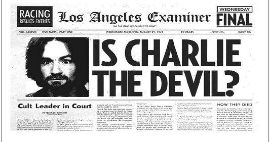 "Charles Manson Quotes. ""You know, a long time ago being crazy meant something. Nowadays everybody's crazy."" ""I can't judge any of you. I have no malice against you and no ribbons for you. But I think that it is high time that you all start looking at yourselves, and judging the lie that you live in."" ""Total paranoia is just total awareness."" ""We are not in Wonderland anymore, Alice."" ""Sanity is a small box; insanity is everything."" ""You people would convict a grilled cheese sandwich of…"