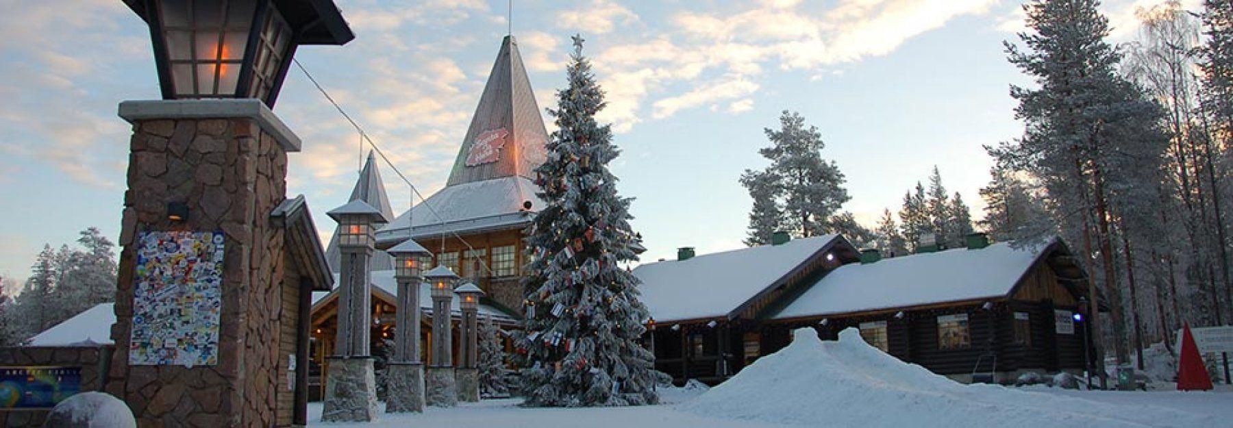 Il Villaggio di Babbo Natale a Rovaniemi Lapponia