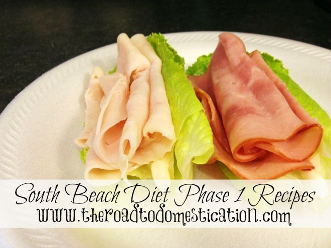 South Beach Diet Phase 1 Recipes!