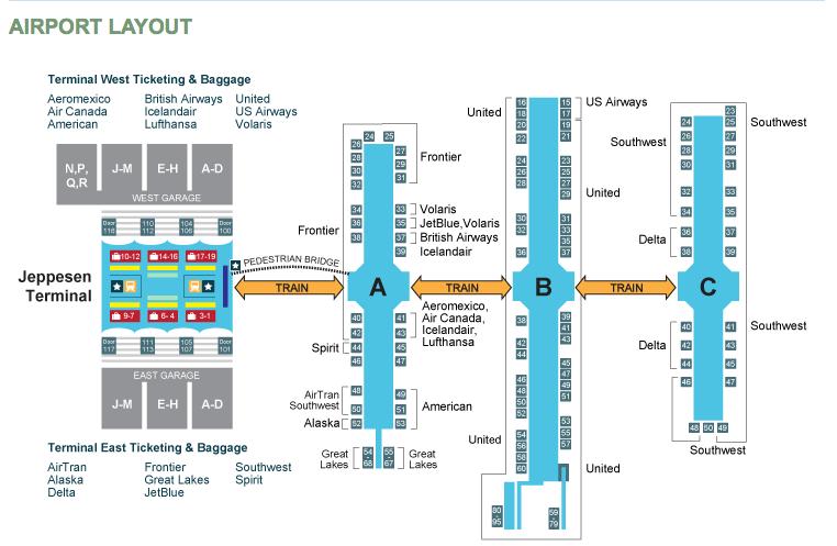 Airport Nursing Rooms Locator Denver airport