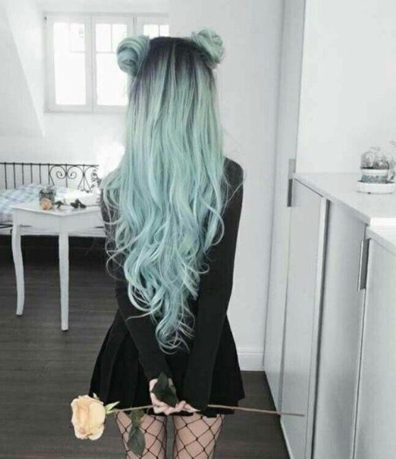 This Looks Tumblr Af Hair Styles Long Hair Styles Trendy Hair Color