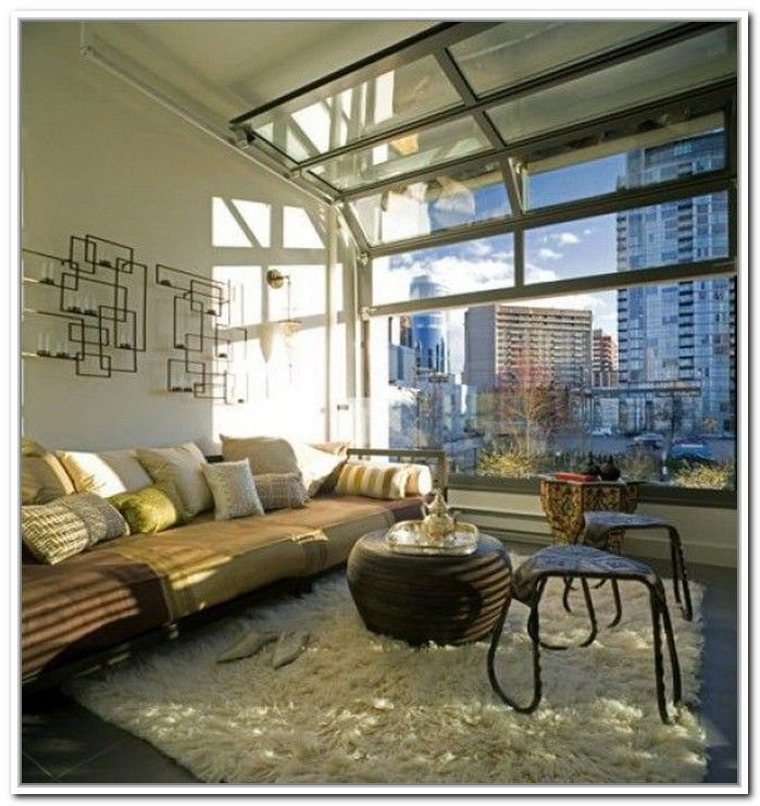 Glass Garage Door Living RoomGlass Garage Door Living Room   bulldog   Pinterest   Glass garage  . Garage Living Room. Home Design Ideas