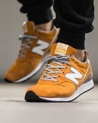 watch 9853b bd6a3 New Balance 996: Orange | Sneakers: New Balance 996 | New ...