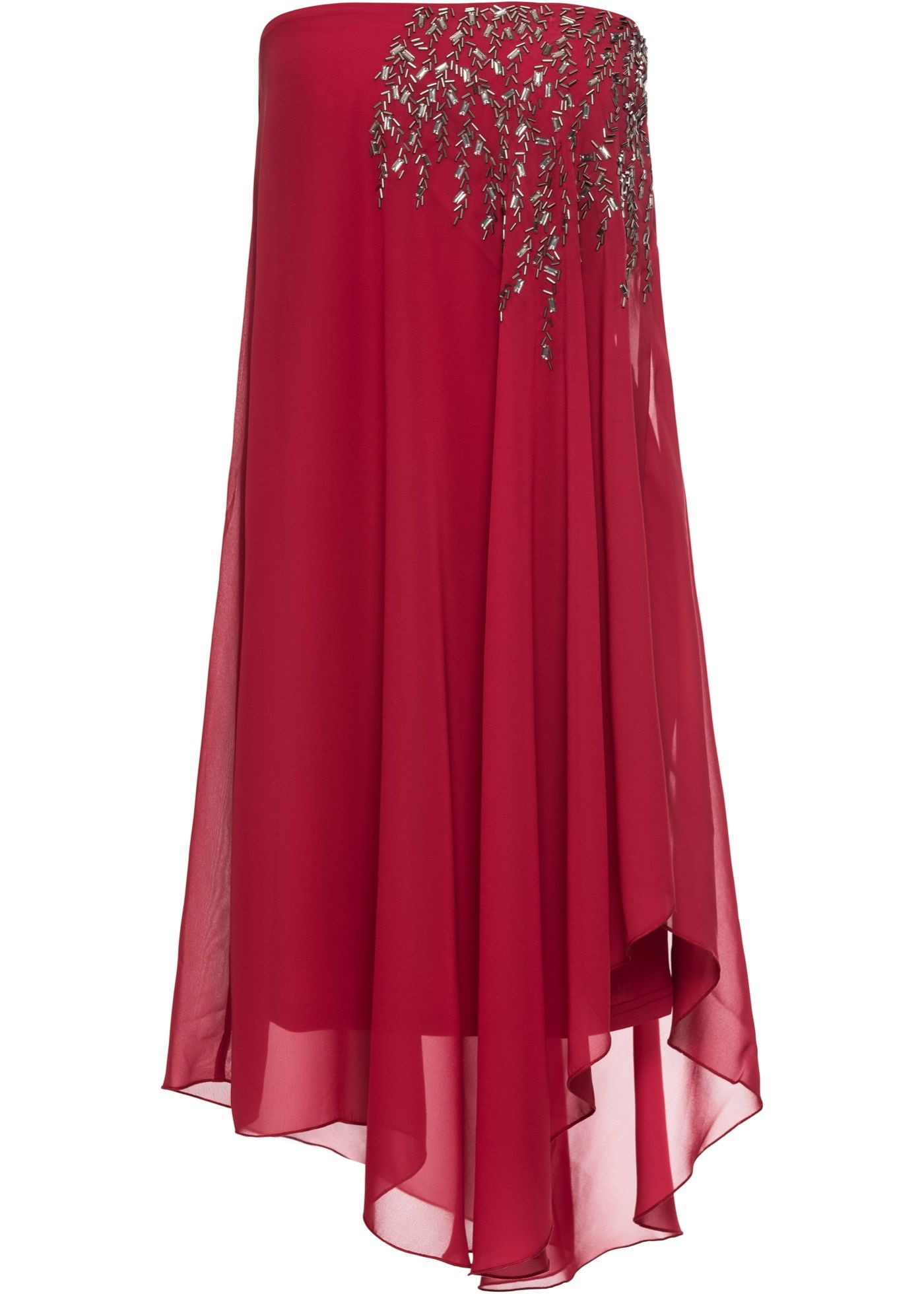 new style 5cb65 84690 Abito monospalla Rosso scuro è ordinabile nello shop on-line ...