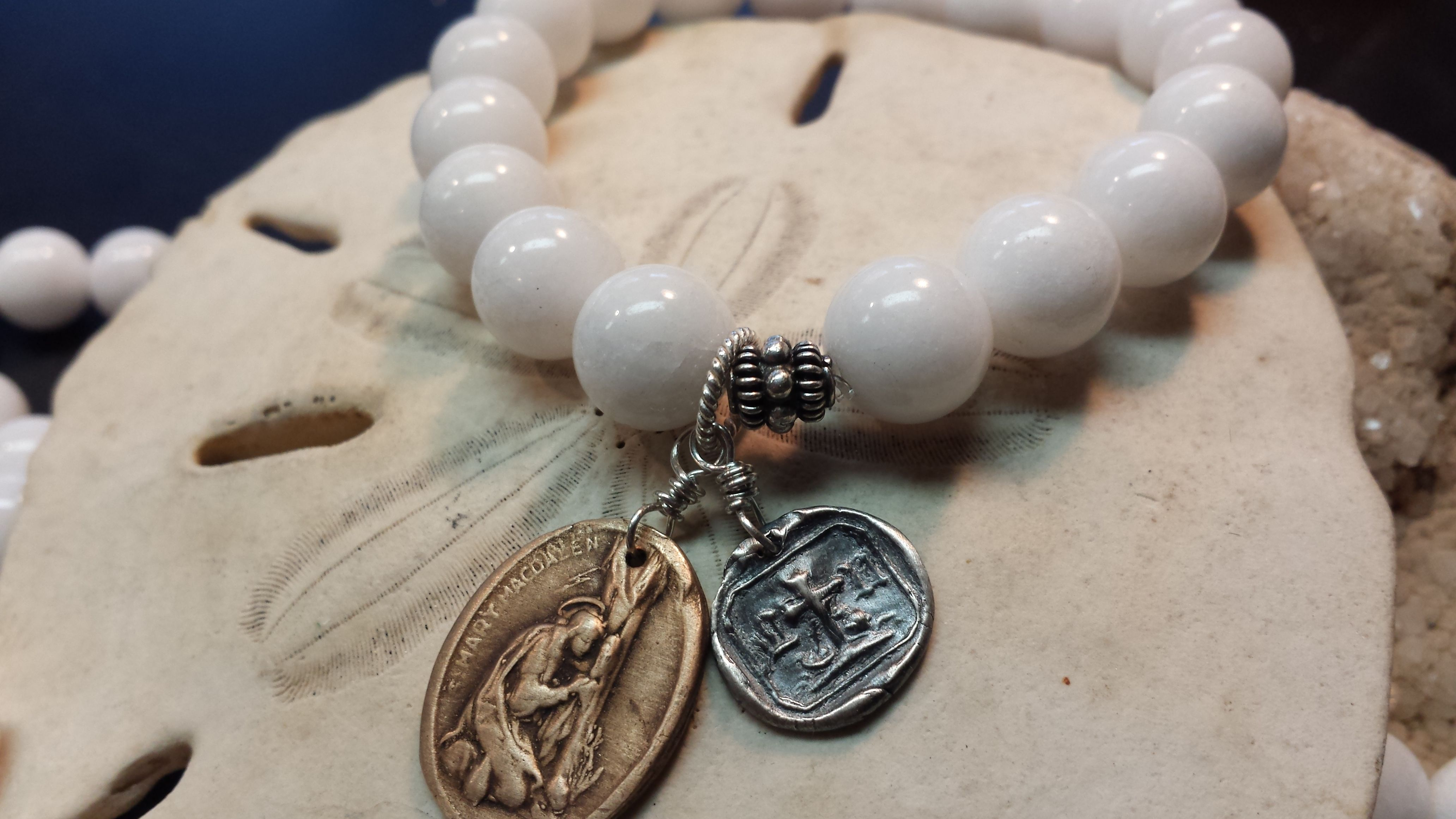 Exclusively From Ps 121 Jewelry Is Our Alabaster Bracelet From Our