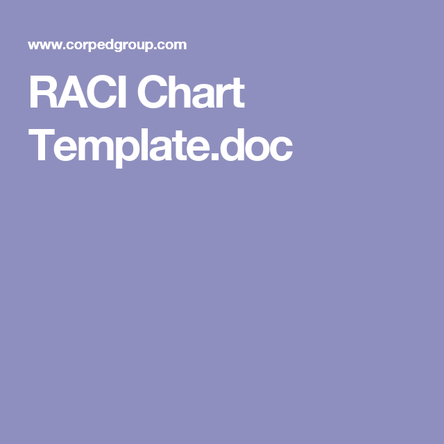 Raci Chart TemplateDoc  Work