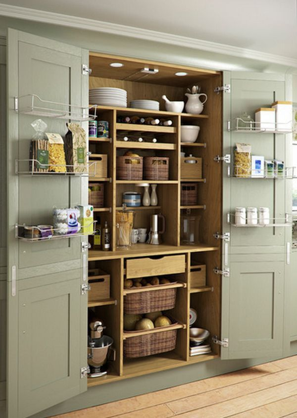 65 ingenious kitchen organization tips and storage ideas cocinas integrales pinterest Armario despensa cocina