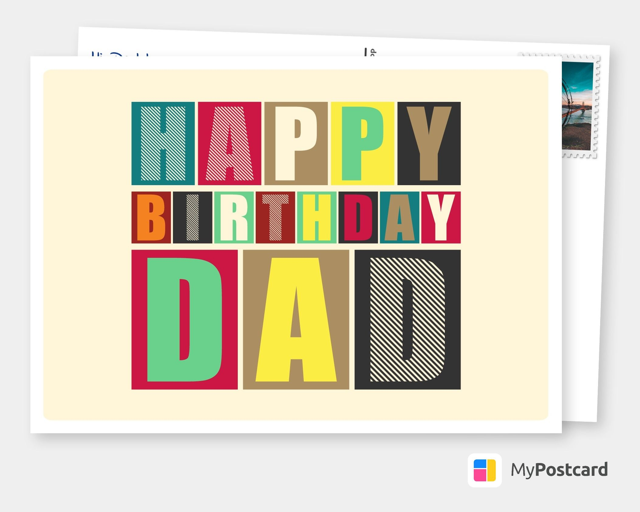 Personalized Birthday Cards Online Printed Mailede For You International Free Shipping Postage Delivery Photo Cards Postcards Greeting Cards Birthday Card Online Birthday Greeting Cards Birthday Postcards