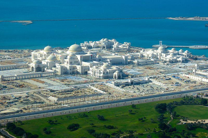 Presidential Palace Abu Dhabi United Arab Emirates | Abu dhabi, Fantasy  landscape, Landscape