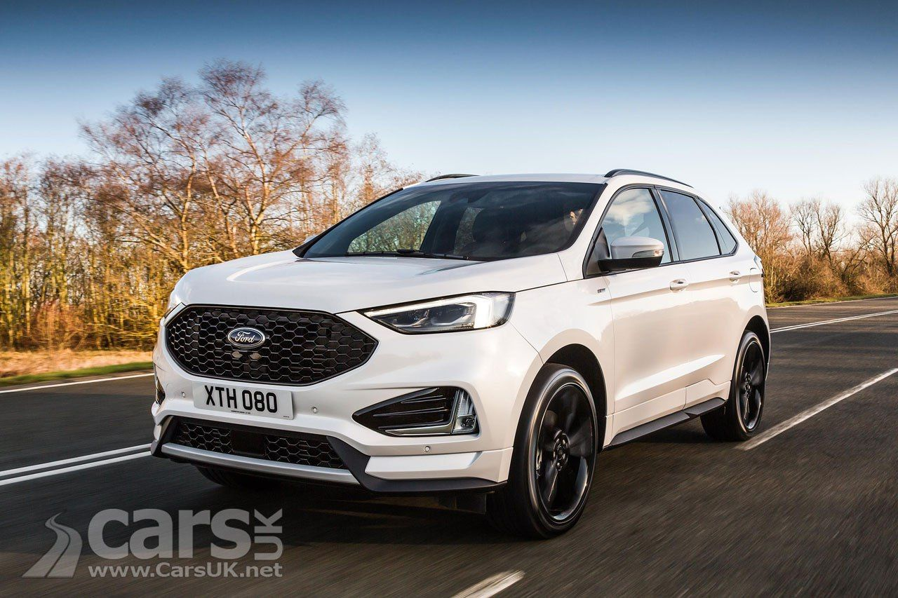 2018 Ford Edge Suv Gets New 235bhp Diesel And St Line In The Uk But No Petrol Option Ford Edge Ford Mondeo Ford Fusion