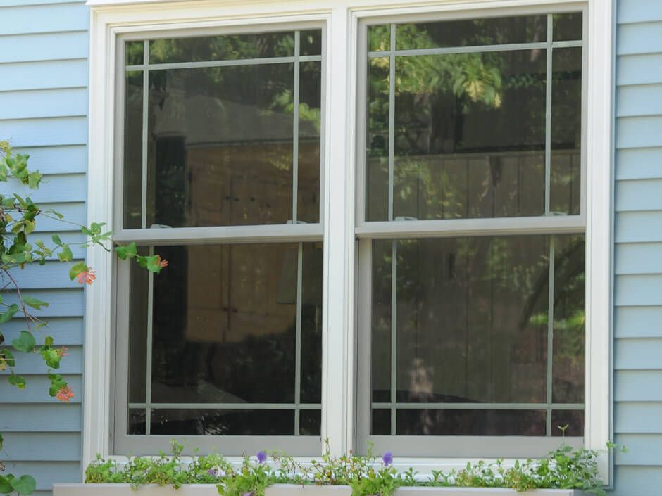 Double Hung Modified Prairie Grilles Double Hung Windows Double Hung Metal Building Homes