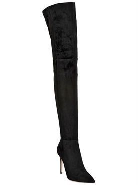 73bd65ba7e gianvito rossi - women - boots - 100mm suede over the knee boots ...