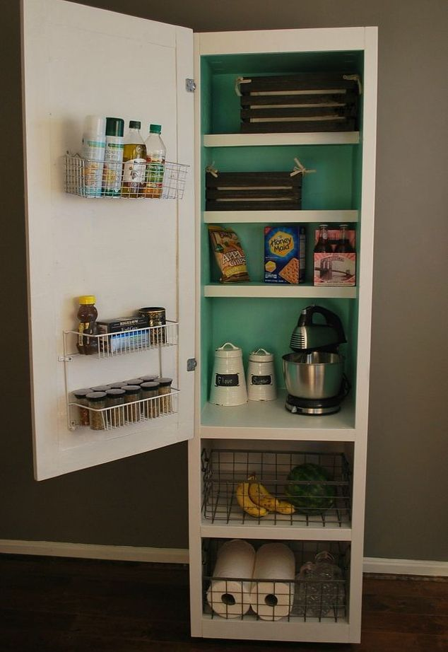 This idea will give you so much more pantry storageand you can make this idea will give you so much more pantry storageand you can make it yourself kitchen cabinet paint solutioingenieria Gallery