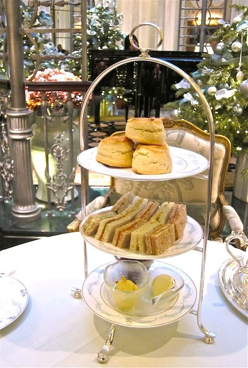 Find A Hotel Willing To Sell Give Me One Of These 3 Tiered Stands This One Is From Savoy Hotel In England Afternoon Tea High Tea Afternoon Tea Parties
